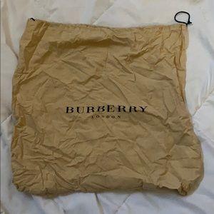 Authentic Burberry Dust Bag